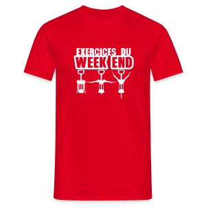 exercices du week end - T-shirt Homme