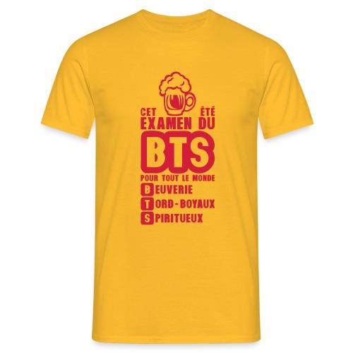BTS examen Spiritueux - T-shirt Homme