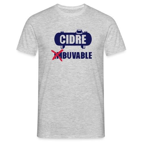 cidre buvalble - T-shirt Homme