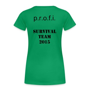 Survival w - Frauen Premium T-Shirt