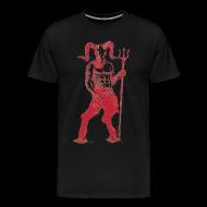 T-Shirts ~ Men's Premium T-Shirt ~ Wily Bo Walker - 'Walking with the Devil' Men's Tee