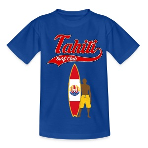 Tahiti Surfing - Kids' T-Shirt