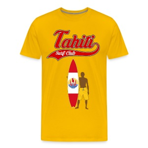 Tahiti Surfing - Men's Premium T-Shirt