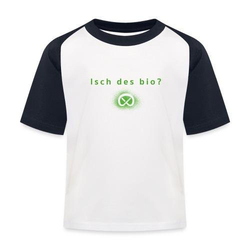Kinder Baseball T-Shirt - schwäbisch,Schwabylon,Schwaben,Prenzlschwäbin,Prenzlberg,Prenzlauerberg,Prenzlauer Berg,Bärbel Stolz,Brezn,Brezl,Brezel,Berlin