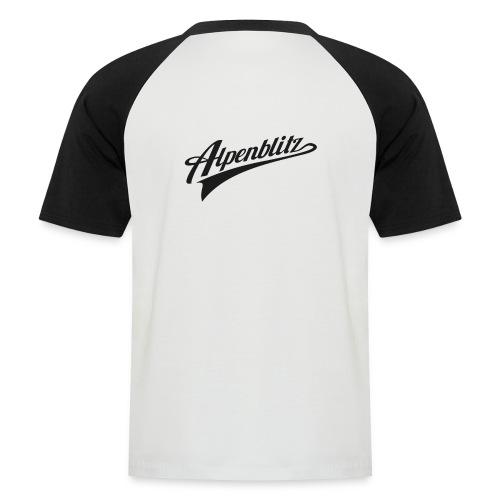 Alpenblitz Kurzarm-T-Shirt - Männer Baseball-T-Shirt
