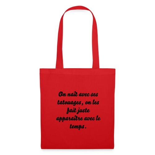Cabas Citation tatouages - Tote Bag