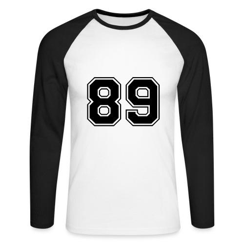 T-Shirt Homme - T-shirt baseball manches longues Homme