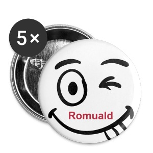 Badge Romuald  - Badge grand 56 mm