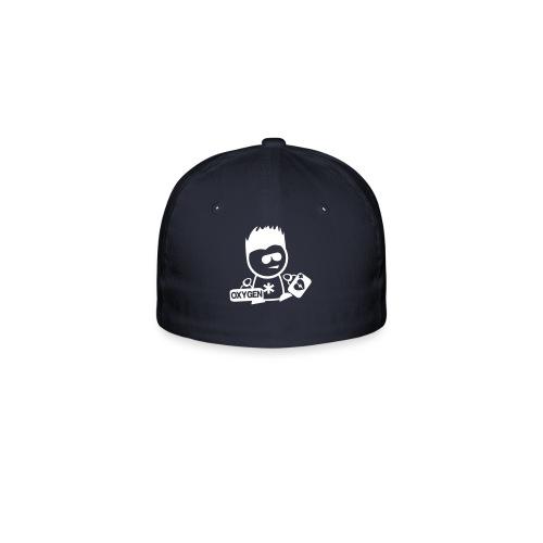 Retter-Sani-Nerd Cap NAVY - Flexfit Baseballkappe