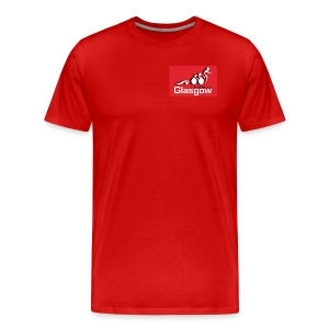 Mens red Logo T shirt - Men's Premium T-Shirt