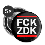 Buttons & Anstecker ~ Buttons klein 25 mm ~ FCKZDK Buttons