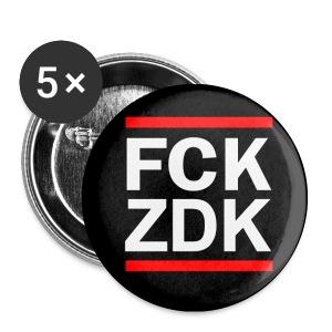 FCKZDK Buttons - Buttons klein 25 mm