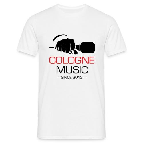 Offizielles CM T-Shirt (weiß) - Männer T-Shirt
