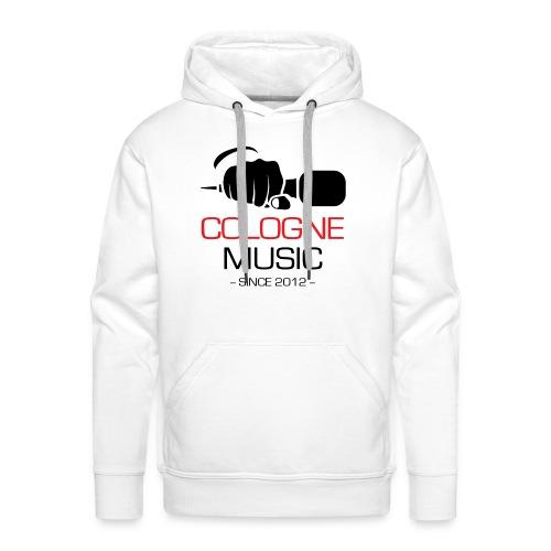 Cologne Music Hoodie (weiß) - Männer Premium Hoodie