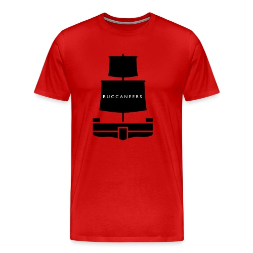 Buccaneers T-Shirt (Schiff) - Männer Premium T-Shirt