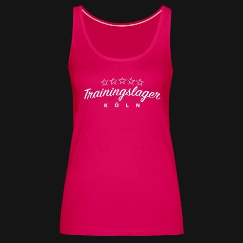 Trainingslager Top Women (pink) - Frauen Premium Tank Top