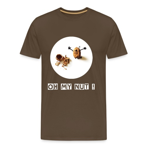 Oh my nut ! - T-shirt Premium Homme