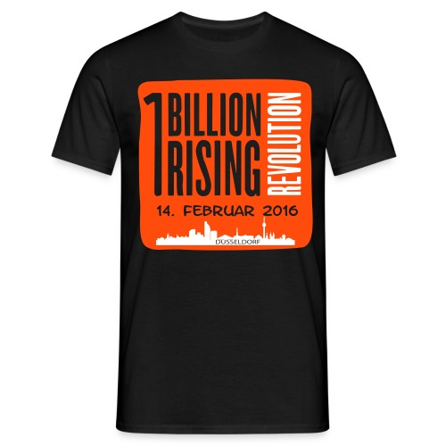 One Billion Rising 2016 Düsseldorf - Männer T-Shirt