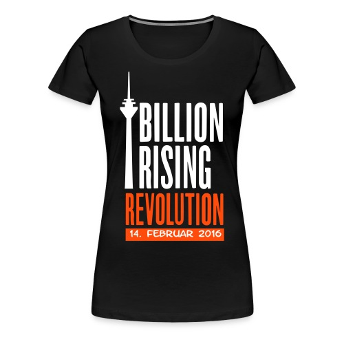 One Billion Rising 2016 Düsseldorf - Frauen Premium T-Shirt