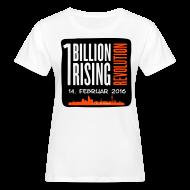 T-Shirts ~ Frauen Bio-T-Shirt ~ One Billion Rising 2016 Düsseldorf