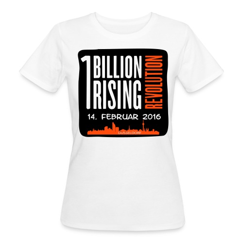 One Billion Rising 2016 Düsseldorf - Frauen Bio-T-Shirt