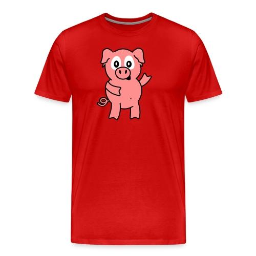 varken T-shirt - Mannen Premium T-shirt