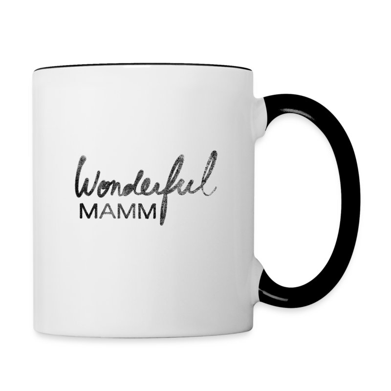 Tasse mug bicolore Wonderful Mamm - Tasse bicolore
