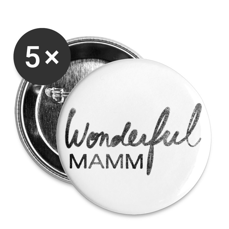 Grand badge Wonderful Mamm - Badge grand 56 mm
