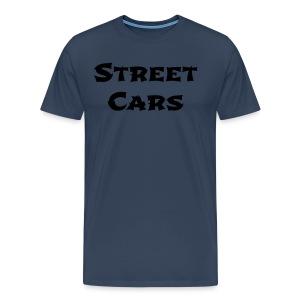 Street Cars - Shirt Man (Zwart) - Mannen Premium T-shirt