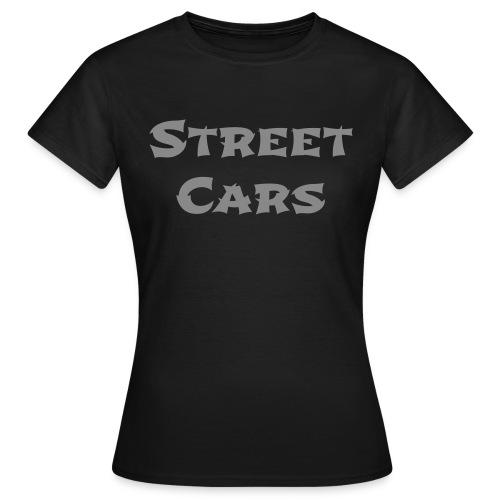 Street Cars - Shirt Vrouw (Glitter) - Vrouwen T-shirt