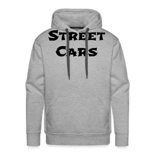 Street Cars - Hoodie Man (Zwart) - Mannen Premium hoodie