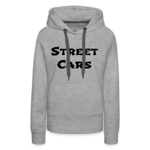 Street Cars - Hoodie Vrouw (Zwart) - Vrouwen Premium hoodie