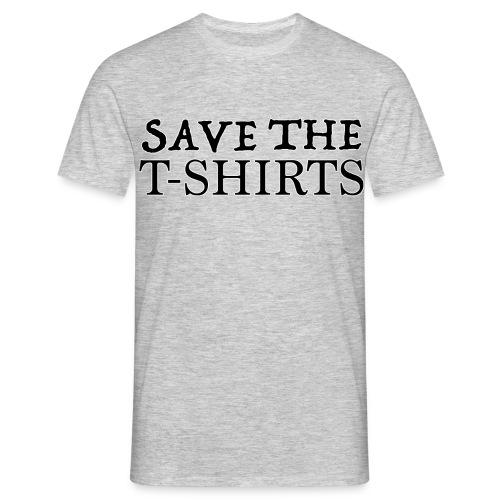 Save The T-Shirts - Maglietta da uomo