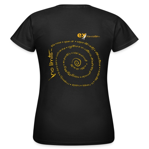 Klettern - No Limits - Frauen T-Shirt