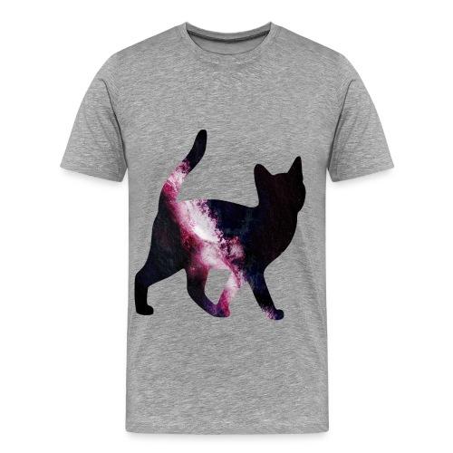 Cat Grey - Mannen Premium T-shirt