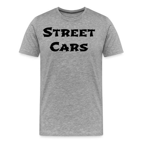 Street Cars - Shirt Man (Zwart - Mannen Premium T-shirt