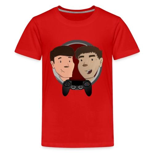 T Skjorte - Ungdom - Premium T-skjorte for tenåringer