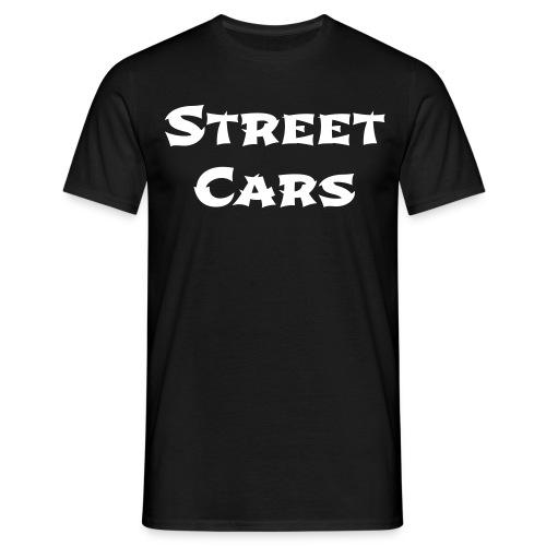 Street Cars - Shirt Man (Wit) - Mannen T-shirt