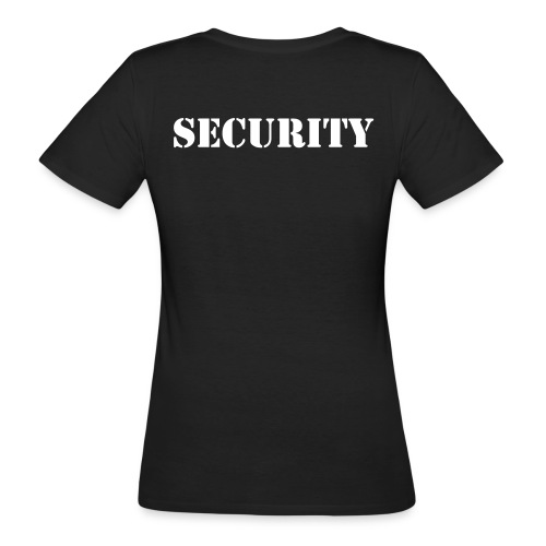 Job-PoloShirt SECURITY women - Frauen Bio-T-Shirt
