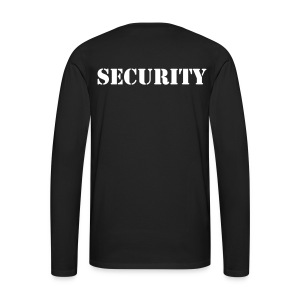 Job-Langarm-Shirt SECURITY  - Männer Premium Langarmshirt