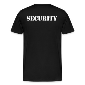 Job-Shirt SECURITY - Männer Premium T-Shirt