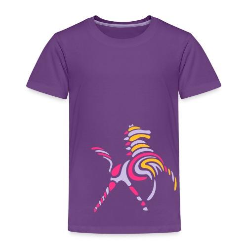 Wildes-Streifenpferd-Kinder-T-Shirt - Kinder Premium T-Shirt