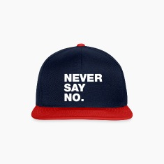 Navy/red Never Say No Caps & Hats