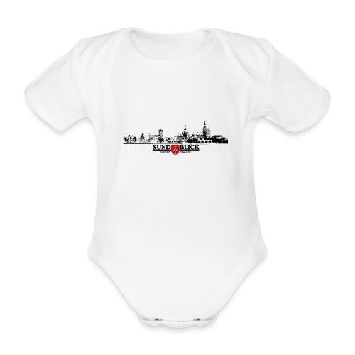 Kurzarm-Body Skyline (kids) - Baby Bio-Kurzarm-Body
