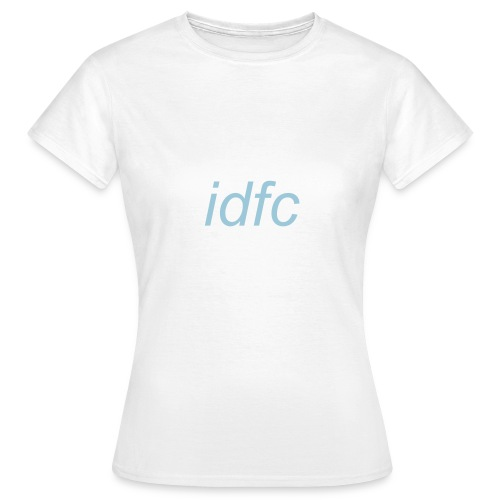 blackbear - idfc women's t-shirt (blue) - Women's T-Shirt