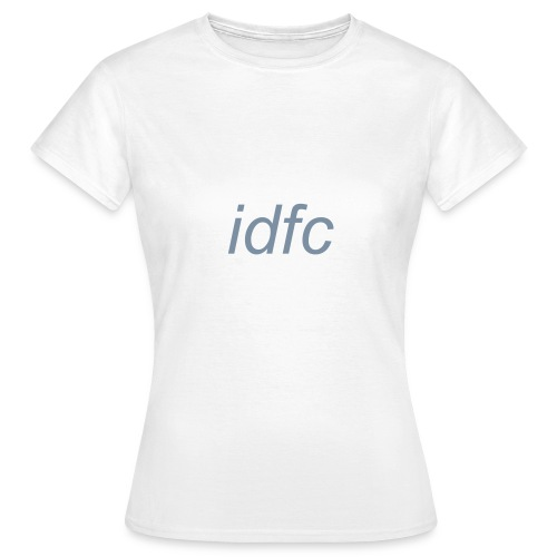 blackbear - idfc women's t-shirt (grey) - Women's T-Shirt