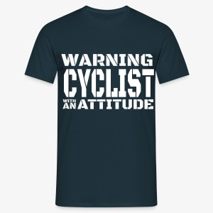 Warning, Cyclist ! - T-shirt Homme