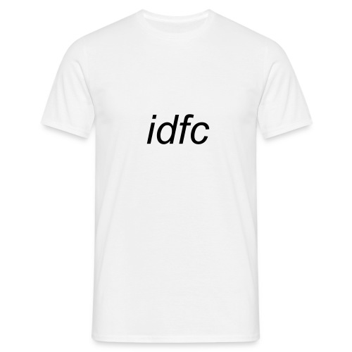 blackbear - idfc men's t-shirt (black) - Men's T-Shirt