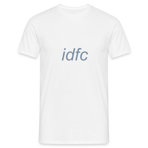 blackbear - idfc men's t-shirt (grey) - Men's T-Shirt