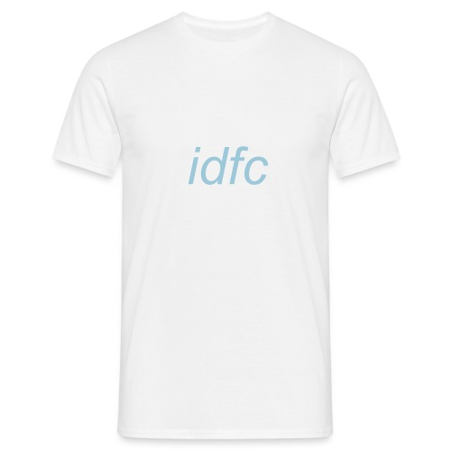 blackbear - idfc men's t-shirt (blue) - Men's T-Shirt